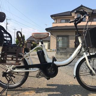 8-35 電動自転車ヤマハパスバビー 20インチ 充電器なし