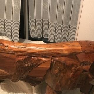 木のイス タイ製🇹🇭 2人掛け