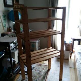 木製組み立て棚