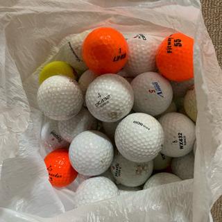 中古のゴルフボール55個