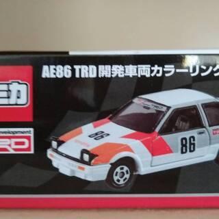 【新品未開封】AE86 TRD 開発車両カラーリングVER. ジ...