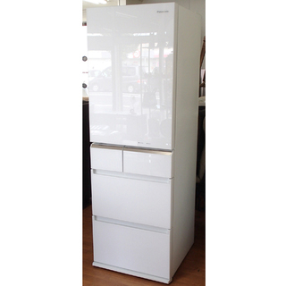 ♪Panasonic/ 5ドア冷蔵庫 NR-E413PVL 40...