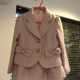 入学・結婚式に☆ピンク色の子供のスーツ