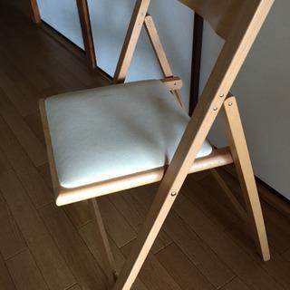 無印 折りたたみ椅子  - 神戸市