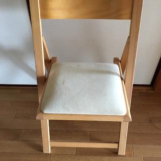 無印 折りたたみ椅子  - 家具