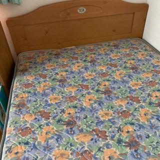0円 木製組立て式シングルベッド。取りに来られる方。有料配達可能。