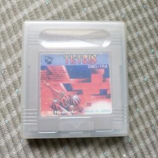 ゲームボーイソフト TETRIS