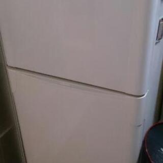 中古冷蔵庫東芝2009年製120リットル白