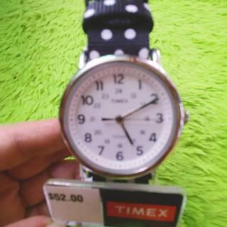 ドット腕時計(レディース)