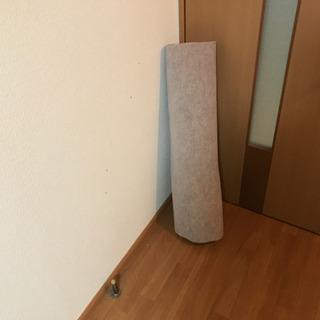 長いカーペット