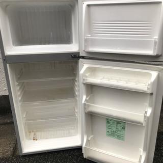 【無料】sanyo 112L 2005年 2ドア冷蔵庫 パナソニ...
