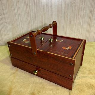 【取引先決定】ソーイングボックス 裁縫箱 Mon Petit P...