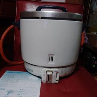 《お値下げしました!》パロマガス炊飯器 業務用2升炊き