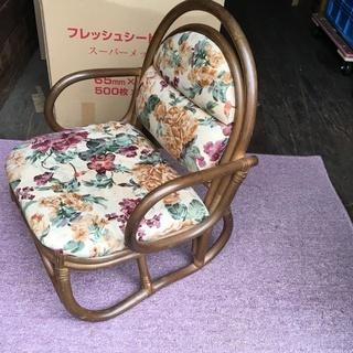☆地元のみ☆籐 座椅子☆