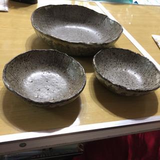 益子焼 デザイナー 深皿 セット
