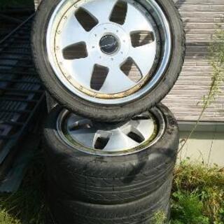 タイヤ18インチ?4本セット