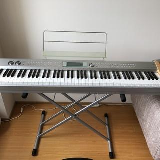 電子ピアノ (デジタル キーボード)光ナビ搭載 88鍵 CASI...
