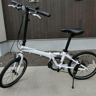 折りたたみ自転車(アルミフレーム)