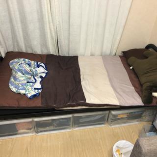 【シングルベッド】搬出超簡単!分解楽々!無料