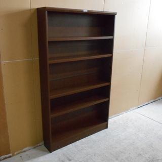 薄型木製本棚『良品中古』 【リサイクルショップサルフ】