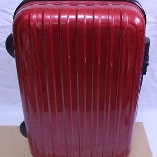 赤色 中型 スーツケース 3泊4日程度