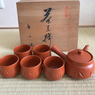 茶器セット 急須と湯のみ5個セット
