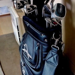 ゴルフクラブセット キャディバッグ付き
