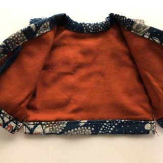 型染め 藍  人形用 陣羽織 7セット