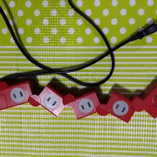延長コード マルチタップ USBも使えます