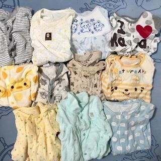 値引き。新生児 ベビー服 50〜60〜70 長袖  カバーオール