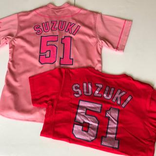 カープ桜色数量限定ユニホームとTシャツセット