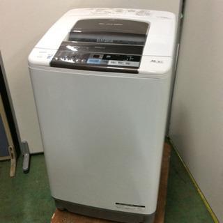 ★値下げしました!★傷あり特価★大型洗濯機  日立  10kg ...
