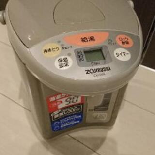 象印 電動ポット 調乳用の60℃設定付