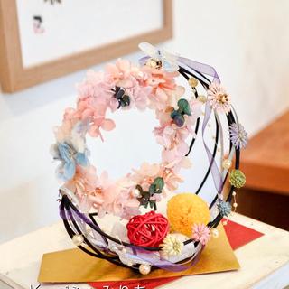 日本のプリンセス♥かぐや姫のお月様リースアレンジ♥