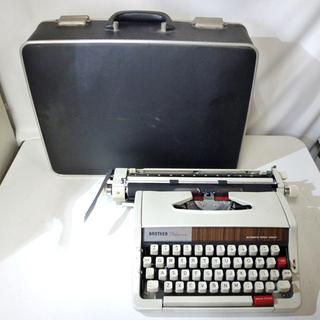 BROTHER/ブラザー 手動英字式ポータブルタイプライター Deluxe333 オートマチック リピートスペーサー JPI-333 札幌市 白石区 東札幌の画像