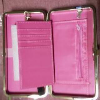 携帯電話入る財布です