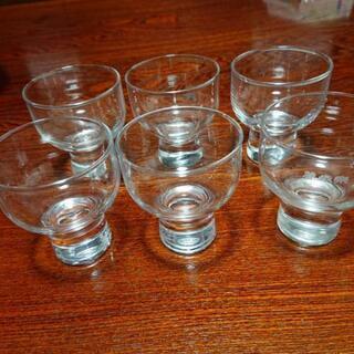 日本酒のグラス 6個の画像
