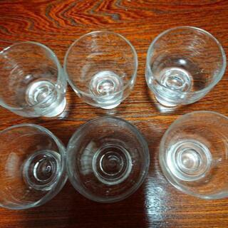 日本酒のグラス 6個 − 石川県
