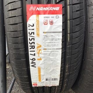 カードOK!! NANKANG AS-1 215/55R17 94V