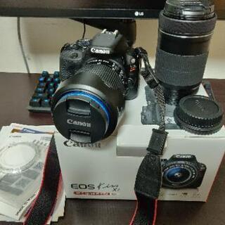 Canon EOS Kiss X7 レンズキット + 55-25...