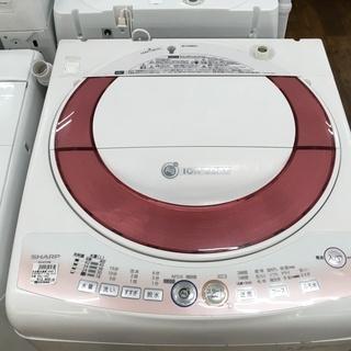 シャープ 7.0kg洗濯機 ES-KS70K-P 2010年製