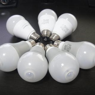 Pnasonic  LED電球7個セット 人感センサー&光色切り...