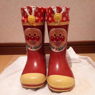 (取り引き中)アンパンマン⭐長靴15cm