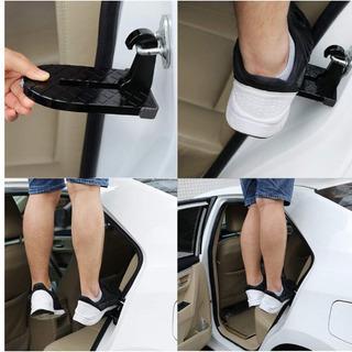 【新品】ドアステップ 折りたたみ式 ドアクライミングペダル 安全ハンマー の画像