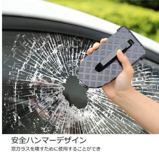 【新品】ドアステップ 折りたたみ式 ドアクライミングペダル 安全ハンマー  - 車のパーツ
