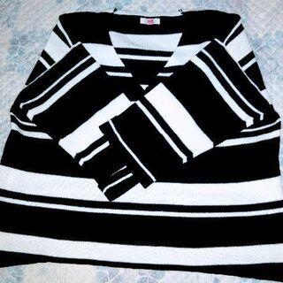 ニット、Vネックセーター(sizeLL)