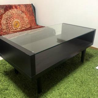 ローテーブル(天板はガラス)
