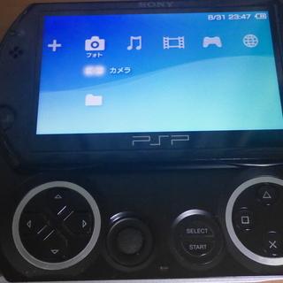値下げしました PSP GO ピアノブラック 16GB 箱付き
