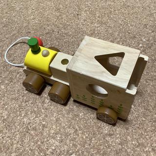 木製 おもちゃ 汽車 車 知育玩具