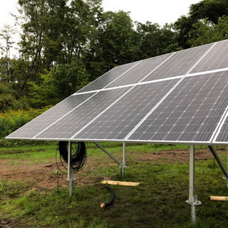 急募!限定1名!白老町周辺にて太陽光パネル設置作業員募集中!